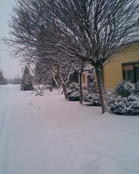 A falu télen