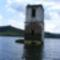 Bözöd, egykori templomtorony látszik csak ki a vízből