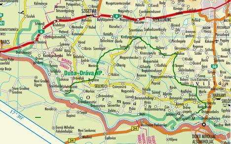 Ormánság - térkép /kattints a képre/