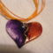 szív medál - aurora