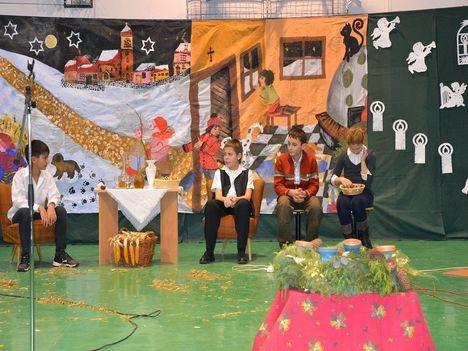 Karácsony az iskolában 2010