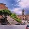 Santa Maria in Aracoeli és a Palazzo Senatorio