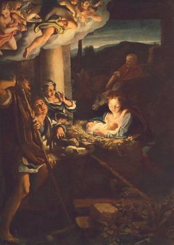 Szent éj - Correggio