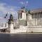 """""""A Haza Oltára"""": II. Viktor Emánuel emlékműve Rómában."""