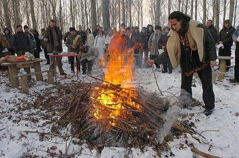 tűz szertartás
