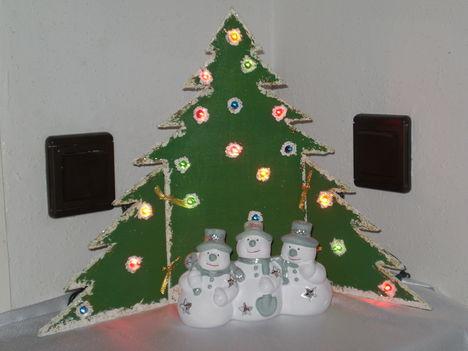 Fenyőfa házilag