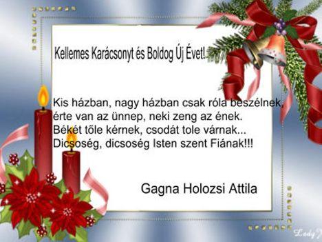 Kellemes karácsonyt és boldog új évet!