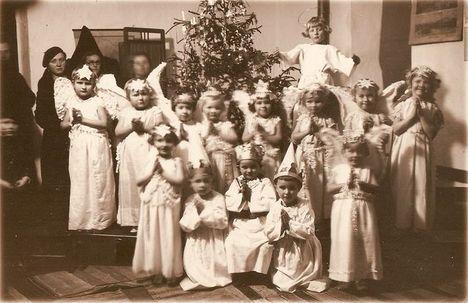 óvodai ünnepség 1936