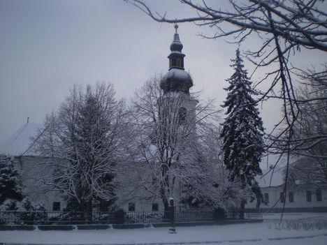 Karácsony vasárnap le esett a hó 1