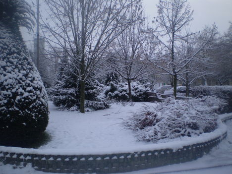 Karácsony vasárnap le esett a hó 2