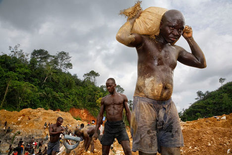 aranybányászok