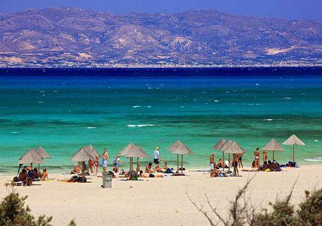 Golden Beach,Chrissi szigetén (és a színek a valóságban is ilyenek!)