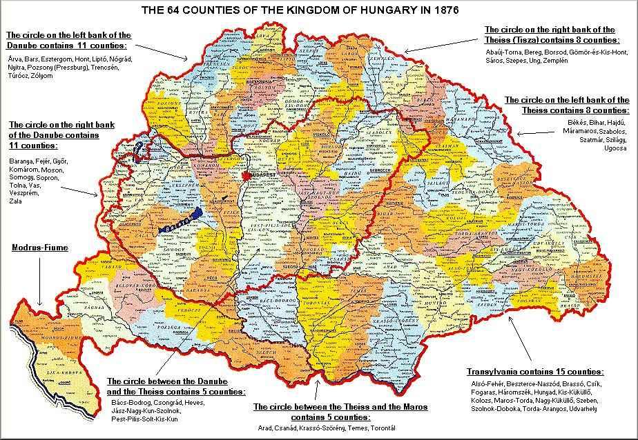 magyarország vármegyéi térkép Térkép: 64_varmegye térképe (kép) magyarország vármegyéi térkép