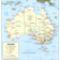 Ausztrália politikai térképe