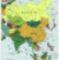 Ázsia politikai térképe