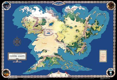 Gyűrűk ura térkép