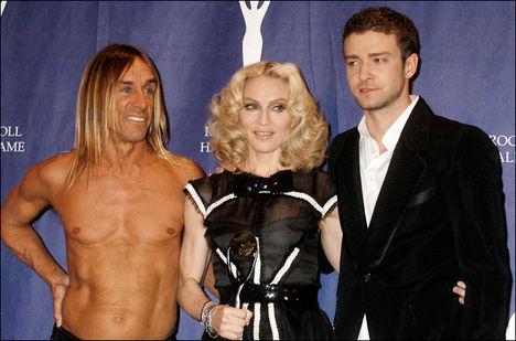 Madonna, Iggy Pop ,és Justin Timberlake - a kompozíció