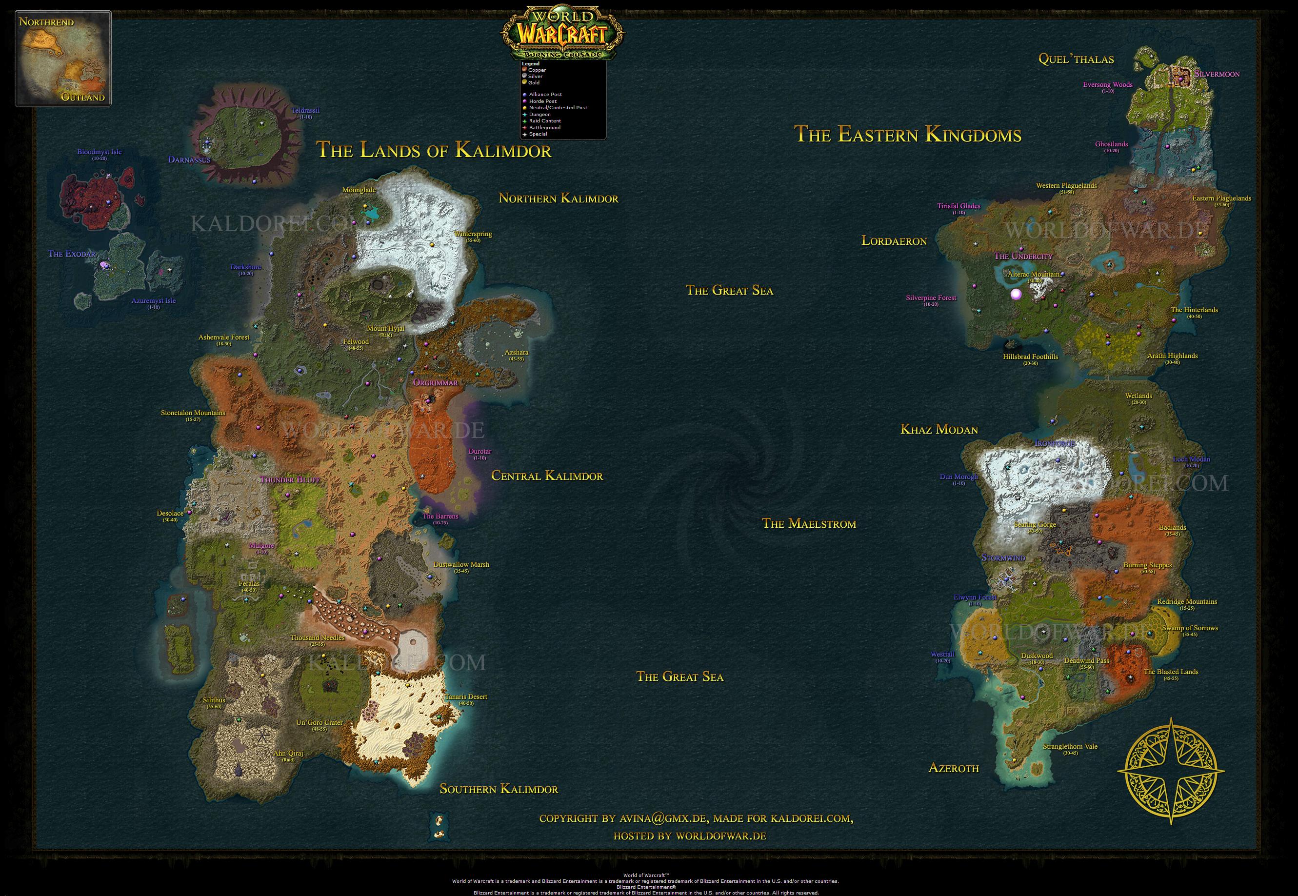 World Of Warcraft Maps Index Of