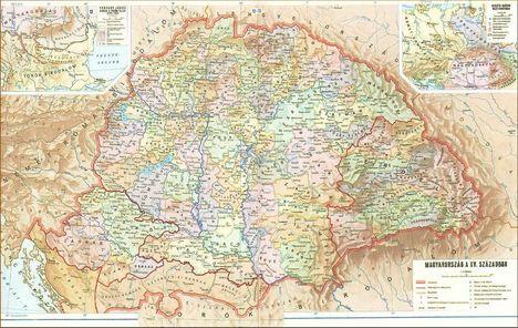 XV századi Magyarország térkép