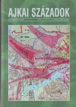 Ajkaiszázaok című könyv fedőlapja-2005.novemberi kiadás