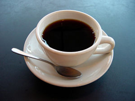 egy csésze fekete