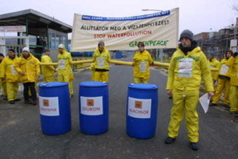 Greenpeace - Sajóbábony