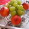 Nektarin és szőlő