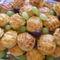 Pogácsák szőlőszemekkel