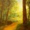 festményeim 11. Fény az  út végén