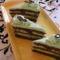 Mozart torta szeletek