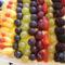 Pudingos szelet gyümölcsökkel