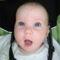 Viktória Csilla 6 hónapos. 2