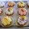 Diós almás muffin