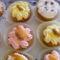 Diós almás muffinok