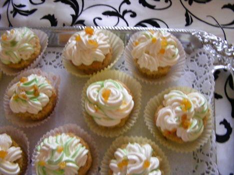 Narancsos muffinok