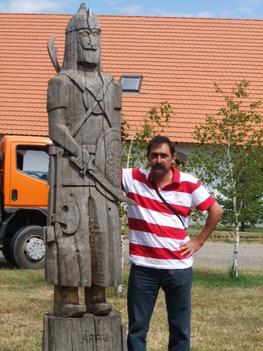 Árpád és én.