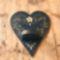 Kék szív -mécses