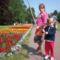 2011.május 28. Mátra. Gyuri futása..a lányokkal várjuk.