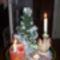 Karácsonyi hangulat, tálcán.