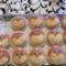 Télapós muffinok