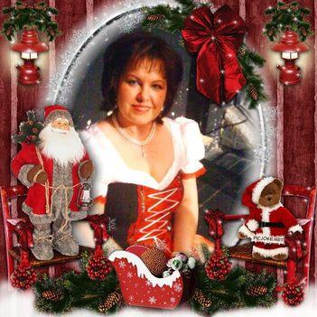 én karácsonyi keretben