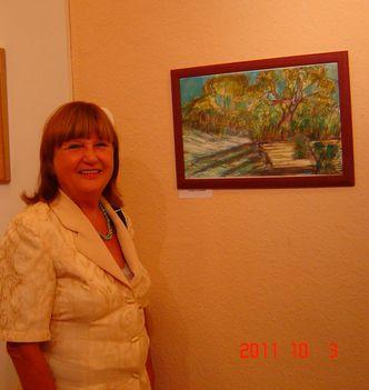Festőverseny kiállítás megnyitó