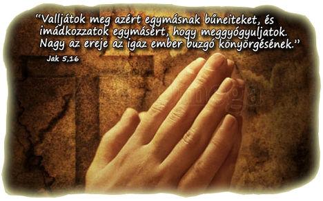 Imádkozzunk egymásért ...