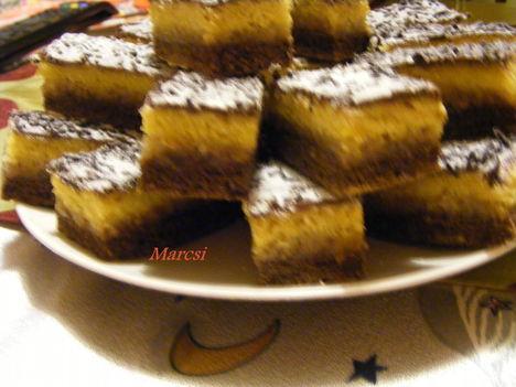Kétszínű sütemények