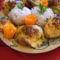 Tejfölös gombás hús szeletek