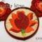 Hímzett rózsa medál