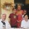 Csaba  fiam családjával