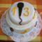 Vikike tortája ő díszítette.