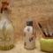 """a nagyobb üveget legelsőként készítettem, """""""" rizspapíros"""""""", nem rizspapírral"""