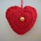 horgolt szív, Valentin napra